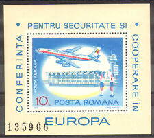 1317 ROMANIA 1977 Europe Security Conference S/S **MNH