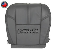 2007, 2008 Chevy Silverado 1500HD Work Truck Driver Bottom Vinyl Seat Cover Gray