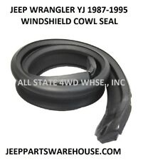 1987-1995 JEEP WRANGLER YJ WINDSHIELD COWL RUBBER SEAL GASKET HIGHEST QUALITY