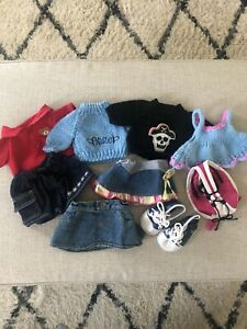 EUC Lot of Stuffed Animal or Doll Clothes - Fits Build A Bear