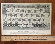 Original 1956 SEATTLE RAINIERS PCL team photo Pacific Coast League baseball