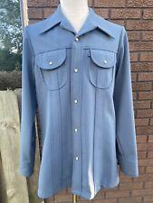 Rare 1970s Levi'S Panatela Tops Mens Jacket Mint Disco Era Leisure Suit Coat