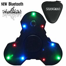 SHANGMAO NEW LED Light Switch MINI Bluetooth Speaker Music Fidget Spinner Toy...