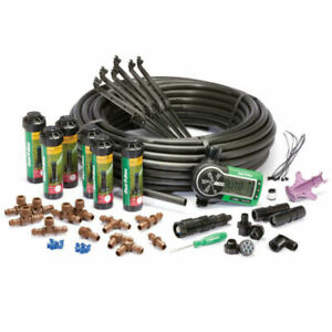 Rain Bird 32eti Underground Yard Lawn Sprinkler System Kit Easy Installation