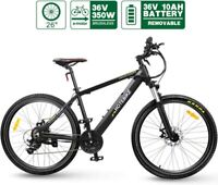 Electric Bike HOTEBIKE Mountain Bike 36V 350W 26 inch 21 Speed Removable Battery