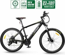 Electric Bike HOTEBIKE Mountain Bike 36V 350W 26inch eBike Powerful Motor