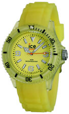 Ice-Watch Ice-Glow Polyamide & Silicon Unisex Yellow Watch GL.GY.U.S.11