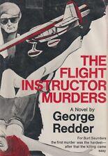 The Flight Instructor Murders by G Redder (1977) General Aviation Murder Mystery