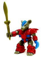 VTG Battle Beasts Powerhouse Mouse #38 Series 2 Figure by Hasbro 1987 w/ weapon
