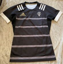 C A Brive Correze Limousin France adidas Rugby Maillot Jersey Noir L Neuf
