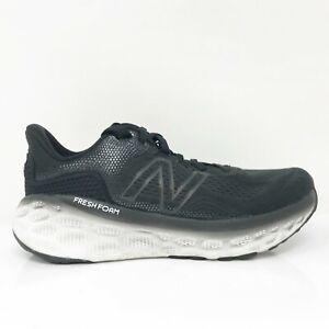 New Balance Womens Fresh Foam More V3 WMORLK3 Black Running Shoes Size 8 B
