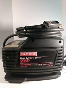 Craftsman 2 HP Compact Portable Air Compressor W/ Hose 125 PSI Max 919.152340
