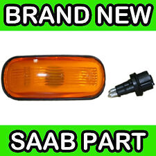 Saab 9000, 900, 9-3, 9-5 Yellow / Orange Wing Indicator Lamp / Light / Lens