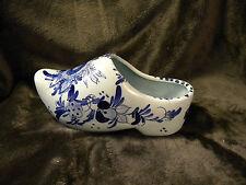 Vintage Porcelain Hand Painted Delfts Blue Holland Shoe, Excellent Condition