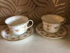 Two Pretty Antique Aynsley Cups And Saucers - Pattern 16199