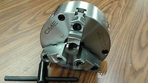 """6"""" 3-JAW SELF-CENTERING LATHE CHUCK front mounting for rotary table #0603F0-FM"""