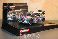 Slot car SCX Scalextric Carrera 27408 Evolution Citroën DS3 WRC Van Merkstejin