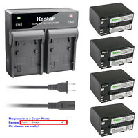Kastar Battery Rapid Charger for Canon BP-970G BP-945 & Canon Optura Optura Pi