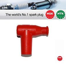 1x NGK SPARK PLUG CAP TB05EM - 14mm DADO TERMINALE ROSSO (8955)