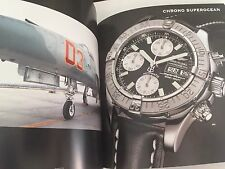 Breitling 1884 Chronolog Catalogue 2009 Fully Colour Watch Book 125 Years Anni'