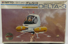 SF3D : NITTO 1/24 SCALE DELTA-3 ROCKET CRAFT MODEL KIT MADE IN 1983 (MLFP)