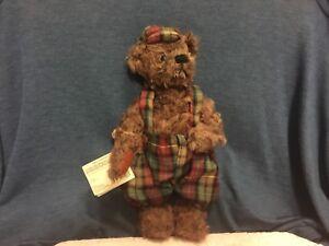 Ganz Cottage Collectibles Teddy Bear Robbie 1996 CC602 Artist MARY HOLSTAD