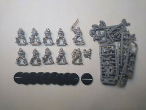 40K Space Wolves- 10x Grey Hunters Squad. Classic metal. OOP