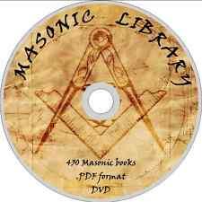 430 FREEMASONS Books on DVD ROM MASONRY eBooks MASONS OCCULT HISTORY illuminati