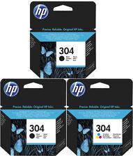 3x ORIGINAL HP 304 TINTE PATRONEN ENVY 5020 5030 5032 5034 Deskjet 3735 Set