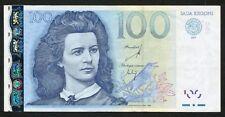 Estonia Estonian 100 Krooni 2007 Ser ZZ Replacement VF Condition !!!