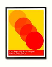 In the beginning there was Jack  Fingers Inc My House Art Print