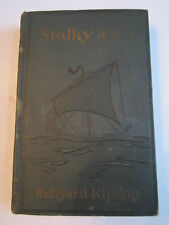 1922 STALKY & CO. BOOK BY RUDYARD KIPLING - NICE COLLECTIBLE BOOK - TUB BBA-3