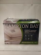 Hampton Bay 80 CFM Ceiling Mount Room Side Installation Bathroom Exhaust Fan