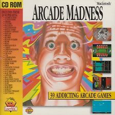 ARCADE MADNESS (CD-ROM) 39 Arcade MAC Games, Brand New Factory Sealed