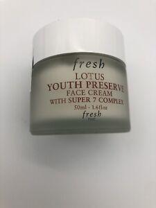 Fresh Lotus Youth Preserve Face Cream w/ Super 7 Complex 50ml/1.6oz NO BOX