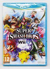 SUPER SMASH BROS PARA Wii U - NINTENDO WIIU - PAL ESPAÑA - NUEVO PRECINTADO FOR