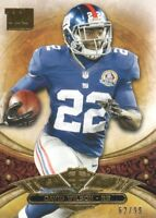 2013 Topps Triple Threads Football Gold #72 David Wilson 62/99 New York Giants