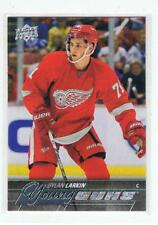 2015 16 UD Young Guns DYLAN LARKIN Rookie Detroit Red Wings # 228