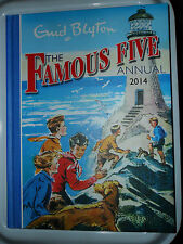 THE FAMOUS FIVE ANNUAL 2014 ENID BLYTON HARDBACK JULIAN DICK ANNE GEORGE TIMOTHY