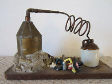 VINTAGE EARLY AMERICAN MODEL OF PURE CORN WHISKEY STILL