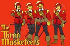 THREE MUSKETEERS FRIDGE MAGNET - RETRO TV CLASSIC!  from the Banana Splits show!