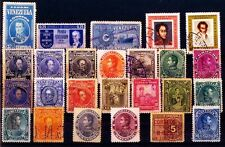 VENEZUELA 25 All Different Old 1882-1945 Used Stamps