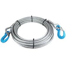 Anschlagseil Seil 14mm beiderseits Lasthaken Haken Forstseil Drahtseil Seil