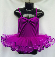Girls Tutu, Ballet, Fairy Dress, Costume Purple Approx 2-4yrs