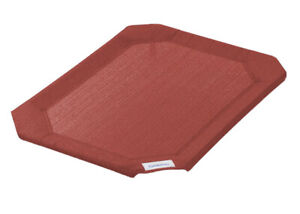 Coolaroo Replacement Cover, The Original Elevated Pet Bed Terracotta Medium
