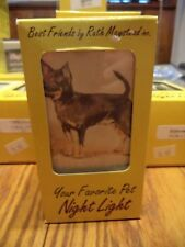 BLACK CHIHUAHUA  NIGHT LIGHT BY RUTH MAYSTEAD - BOXED