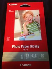 CANON PHOTO PAPER GLOSSY~GP-701 4 X 6~50 SHEETS (5 packs = 250 sheets)