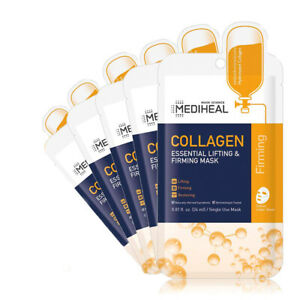 [ MEDIHEAL ] Collagen Essential Lifting & Firming Mask 5-PACK