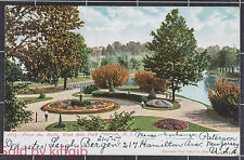 West Side Park Paterson New Jersey 1907 postcard