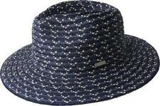 NEW KANGOL Osage Braid Davis Trilby Style Pinch Front Summer Spring Hat Black